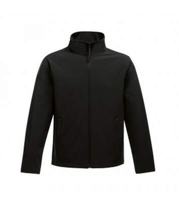 Regatta Mens Ablaze Printable Softshell Jacket (Black/Black) - UTRG3560