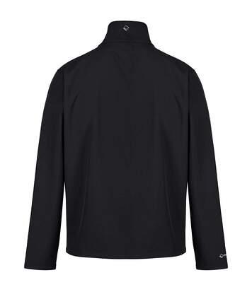 Regatta Great Outdoors Mens Cera III Lightweight Softshell Jacket (Black) - UTRG845