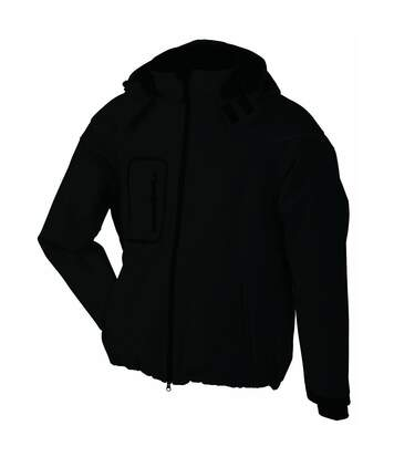 Veste softshell hiver Homme - JN1000 - Noir