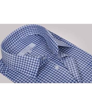 Chemise homme à carreaux bleus et blancs - Chemise CINTRÉE