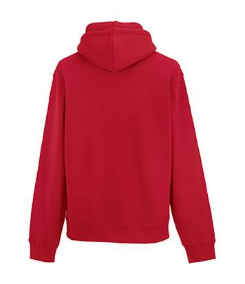 Russell Mens Authentic Hooded Sweatshirt / Hoodie (Classic Red) - UTBC1498