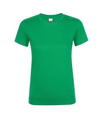 Sols Regent - T-Shirt - Femme (Vert tendre) - UTPC2792