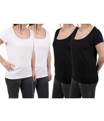 T shirts Femme Lot de 4 Uni Divinity