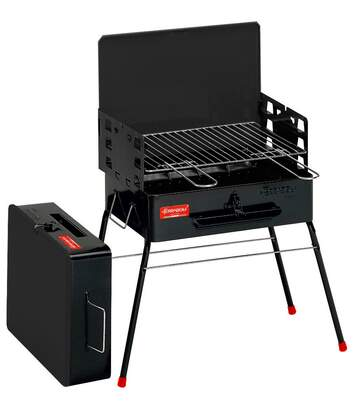 Barbecue à charbon de bois transportable Camping
