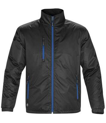 Stormtech Mens Axis Water Resistant Jacket (Black/Royal) - UTBC2079