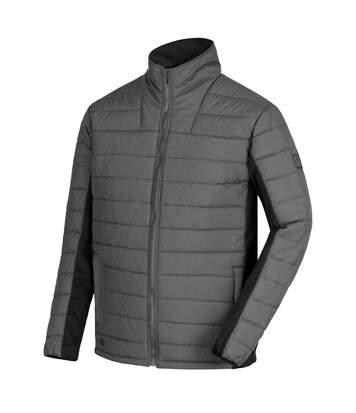 Regatta Mens Ibsen Full Zip Jacket (Seal Grey/Black) - UTRG3670