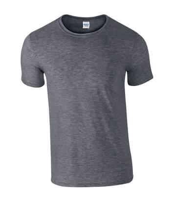 Gildan - T-Shirt Manches Courtes - Homme (Gris foncé chiné) - UTBC484