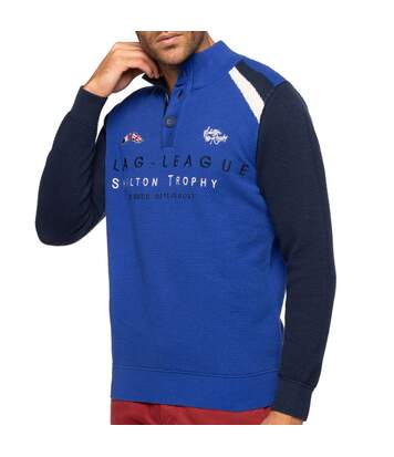 Pull rugby col montant FLAG