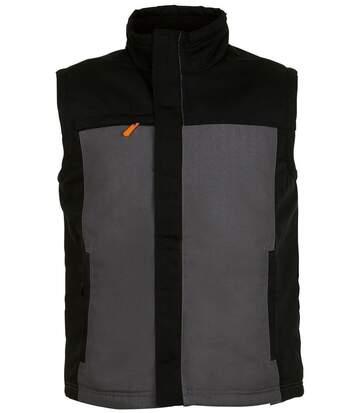 Veste sans manches - bodywarmer workwear - PRO 01567 - gris foncé