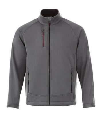 Slazenger Chuck Mens Softshell Jacket (Grey) - UTPF2222