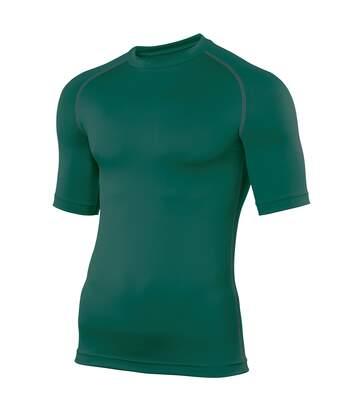 Rhino Mens Sports Base Layer Short Sleeve T-Shirt (Bottle Green) - UTRW1277