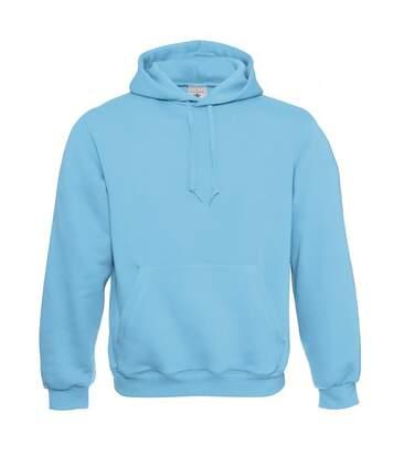 B&C Mens Hooded Sweatshirt / Hoodie (Diva Blue) - UTBC127