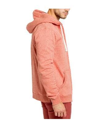 Sweat à capuche rose homme Quiksilver Les Tamaris