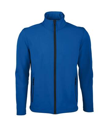 SOLS Mens Race Full Zip Water Repellent Softshell Jacket (Royal Blue) - UTPC2549