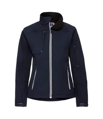 Russell Women/Ladies Bionic Softshell Jacket (French Navy) - UTRW6160