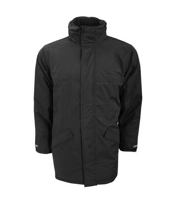 Result Mens Core Winter Parka Waterproof Windproof Jacket (Black) - UTBC901