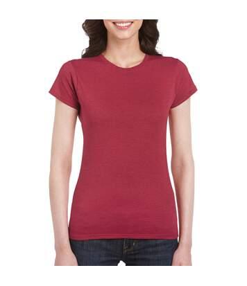 Gildan - T-Shirt À Manches Courtes - Femme (Gris sport) - UTBC486