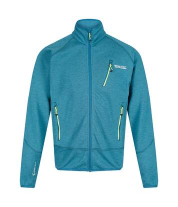 Regatta Mens Harva Full Zip Jacket (Sea Blue) - UTRG4176