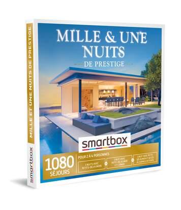 SMARTBOX - Mille et une nuits de prestige - Coffret Cadeau Séjour