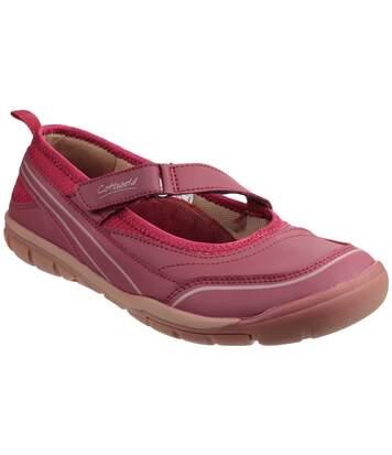 Cotswold Appleton - Chaussures Scratch - Femme (Bordeaux) - UTFS3644