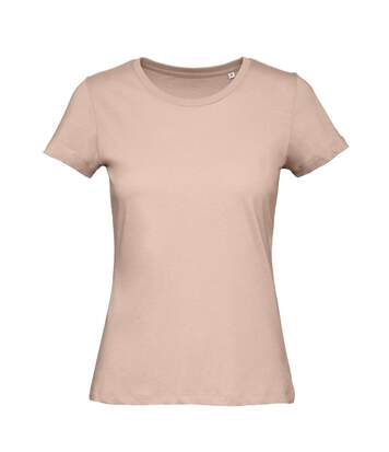 B&C - T-Shirt En Coton Bio - Femme (Rose pâle) - UTBC3641
