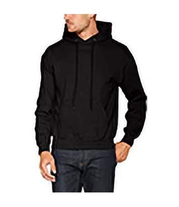 Fruit Of The Loom Mens Premium 70/30 Hooded Sweatshirt / Hoodie (Black) - UTRW3163