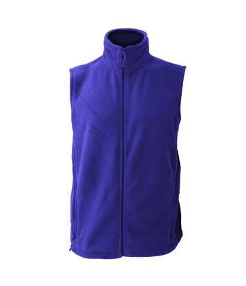 Jerzees Colour Fleece Gilet Jacket / Bodywarmer (Bright Royal) - UTBC576