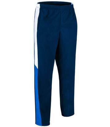 Pantalon jogging sport homme - VERSUS - bleu marine - blanc - bleu roi