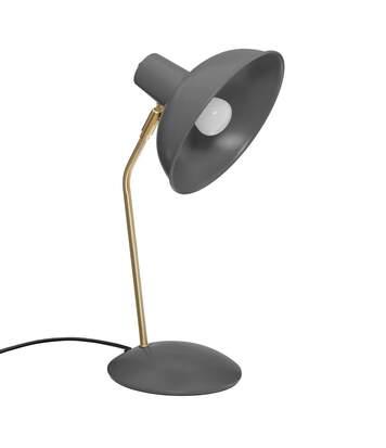 Atmosphera - Lampe à poser en métal Gris H 38 cm Celia