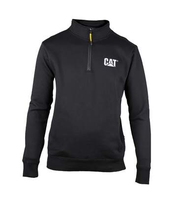 Caterpillar Mens Canyon 1/4 Zip Pullover (Black) - UTFS3424