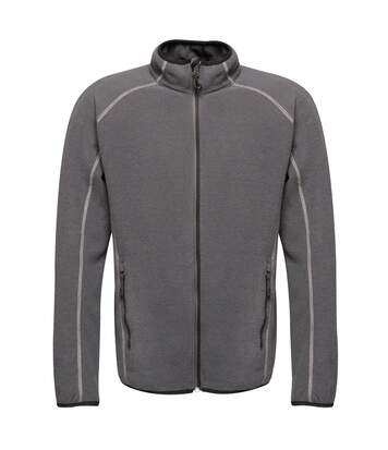 Regatta Mens Dreamstate Mini Honeycomb Fleece Jacket (Seal Grey) - UTPC3631