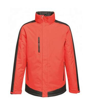 Regatta Mens Contrast Insulated Jacket (Black/Classic Red) - UTPC3315