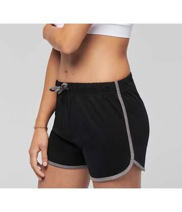Short sports losirs femme - PA1021 - noir