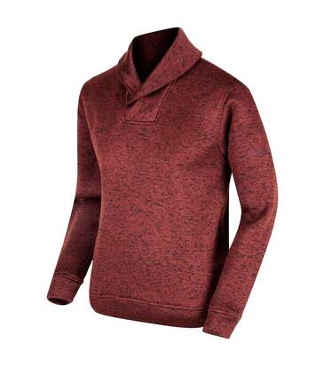 Regatta Great Outdoors Mens Treyton Shawl Neck Fleece (Bitter Choc) - UTRG2833