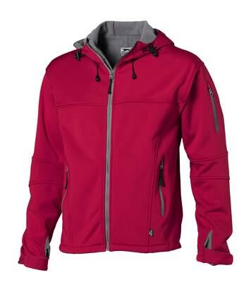 Slazenger Mens Match Softshell Jacket (Red) - UTPF1771