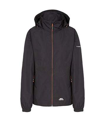 Trespass Womens/Ladies Blyton Waterproof Jacket (Black) - UTTP4619