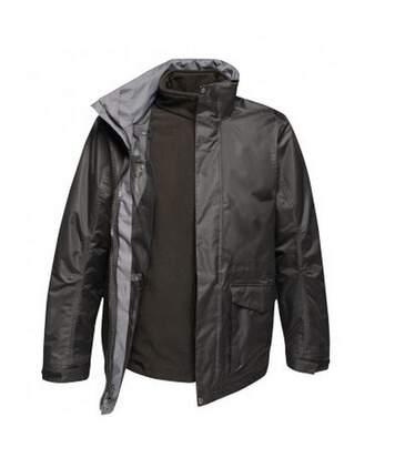 Regatta Mens Benson III 3-in-1 Breathable Jacket (Black/Black) - UTPC3307