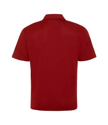 AWDis Just Cool Mens Plain Sports Polo Shirt (French Navy) - UTRW691