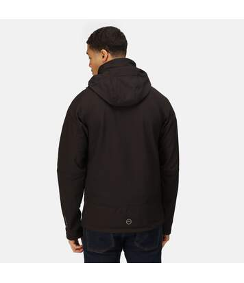 Regatta Mens Powergrid 3 Layer Jacket (Black) - UTRG3119