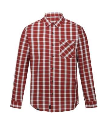 Regatta - Chemise manches longues CLASSIC - Homme (Rouge) - UTRG5507