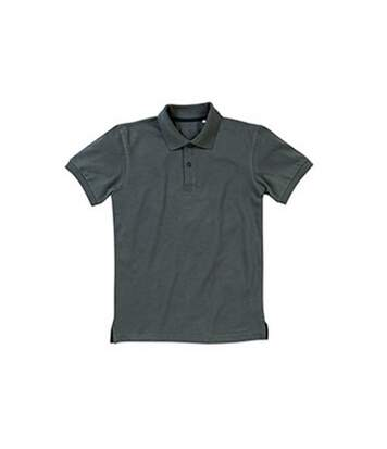 Stedman Mens Henry Cotton Polo (Slate Grey) - UTAB359