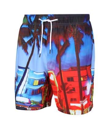 Regatta Mens Mawson II Swim Shorts (Multicoloured Print) - UTRG4023
