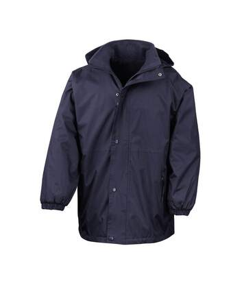 Result Mens Reversible StormDri 4,000 Waterproof Windproof Anti Pilling Fleece Jacket (Navy/Navy) - UTBC884