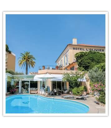 SMARTBOX - 2 nuits pour 2 personnes à l'Hôtel l'Oliver de Cannes - Coffret Cadeau Séjour
