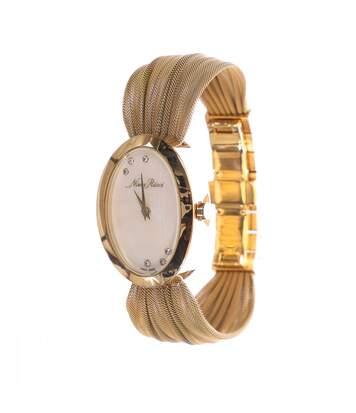 Montre analogique or femme Nina Ricci 6 diamants