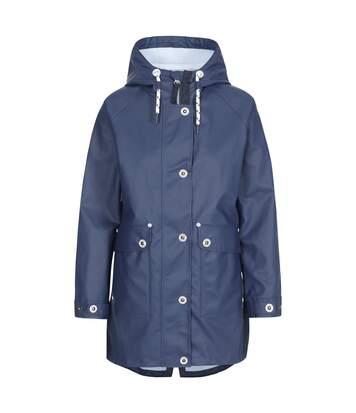 Trespass Womens/Ladies Shoreline Rain Jacket (Navy) - UTTP4793