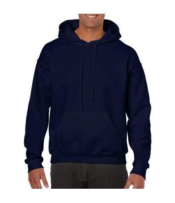 Gildan Heavy Blend Adult Unisex Hooded Sweatshirt / Hoodie (Safety Pink) - UTBC468