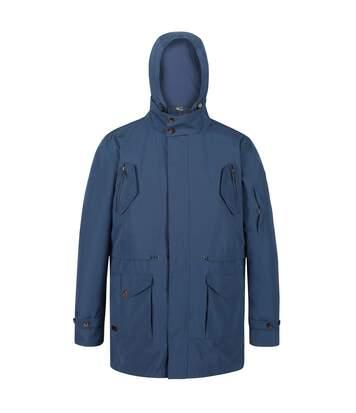 Regatta Mens Macarius Waterproof Jacket (Dark Denim) - UTRG4900