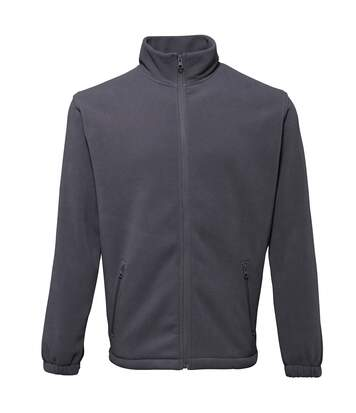 2786 Mens Full Zip Fleece Jacket (280 GSM) (Charcoal) - UTRW2506