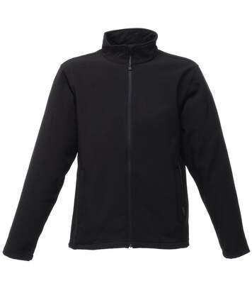 Regatta Mens Reid Water Repellent Softshell Jacket (Black) - UTRW1194